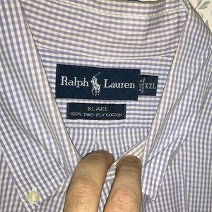 Polo Ralph Lauren designer shirt.